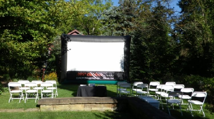 Movie Screen (12 x 7) Package