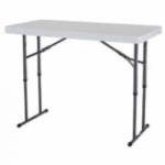 4 FT folding table