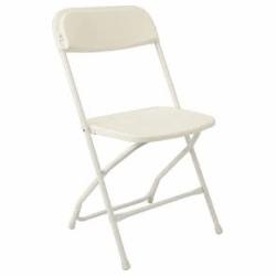 folding chairs - White