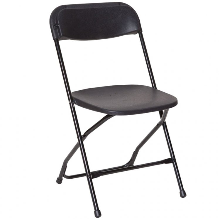 Folding Chairs - Black or Beige